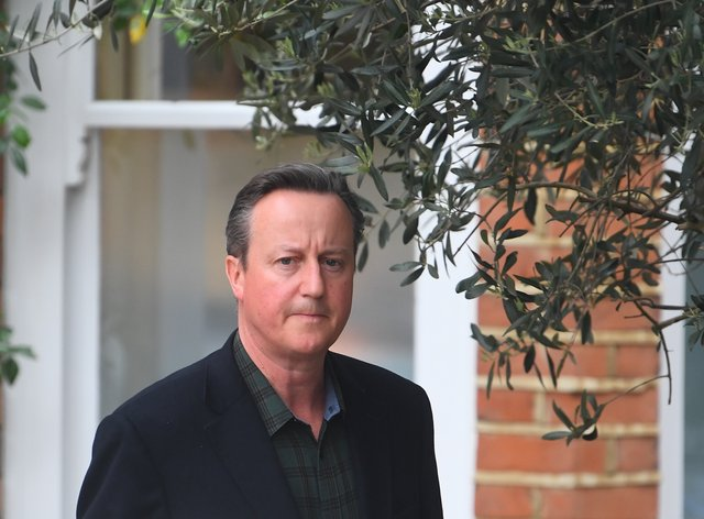 David Cameron 'could have been clearer' about his relationship with Greensill Capital, a report found (Victoria Jones/PA)
