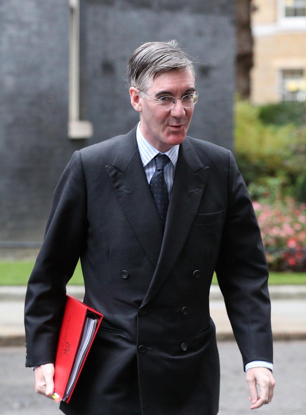 Leader of the House of Commons Jacob Rees-Mogg (Jonathan Brady/PA)