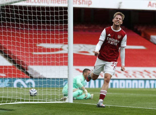 Arsenal's Emile Smith Rowe has signed a new contract at the club (Frank Augstein/PA)