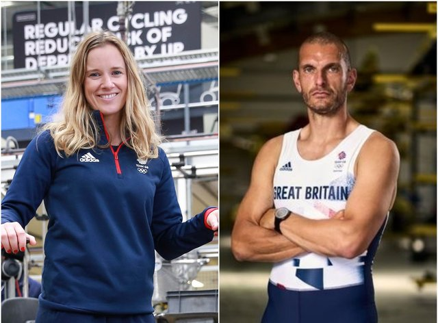 Hannah Mills and Mohamed Sbihi will be GB's flag bearers for the opening ceremony in Tokyo (John Walton/PA)