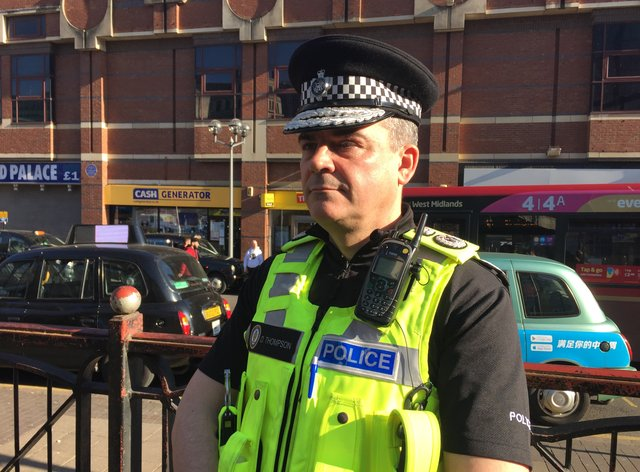 Chief Constable of West Midlands Police, David Thompson (PA)