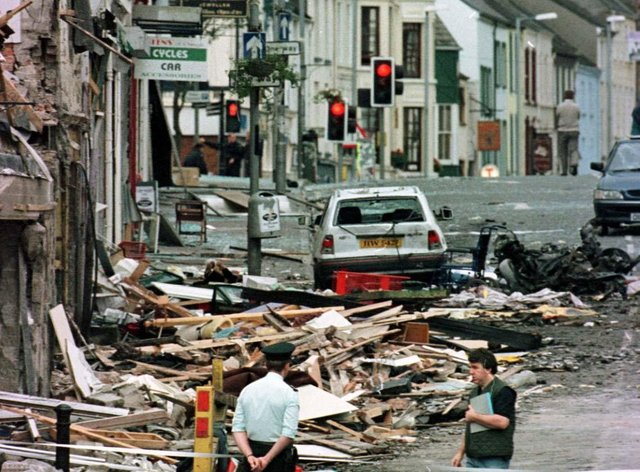 Some 29 people died in the Omagh bombing (Paul McErlane/PA)