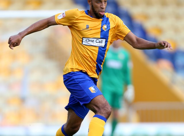 Rhys Bennett, seen here playing for Mansfield, has joined Gillingham (Barry Coombs/PA)