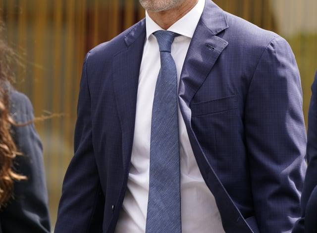 Former Manchester United footballer Ryan Giggs (Peter Byrne/PA)