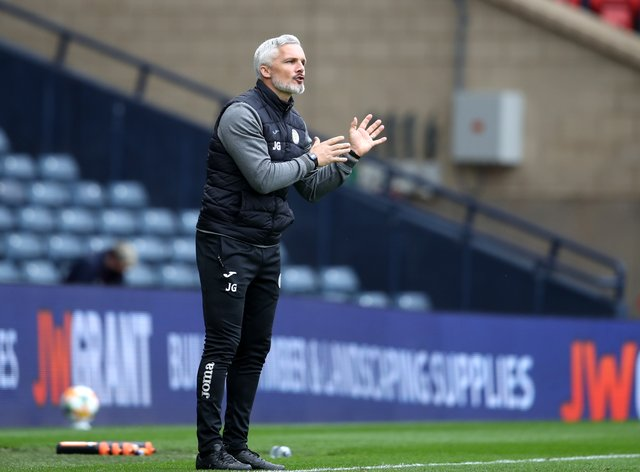 No St Mirren players will be leaving on the cheap says manager Jim Goodwin (Andrew Milligan/PA)