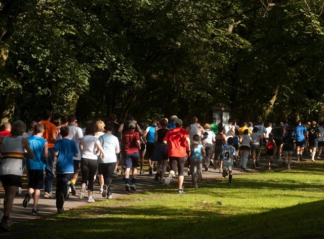 People will be returning to Parkrun after lockdown restrictions eased in England on Monday (Gareth Copley/PA)