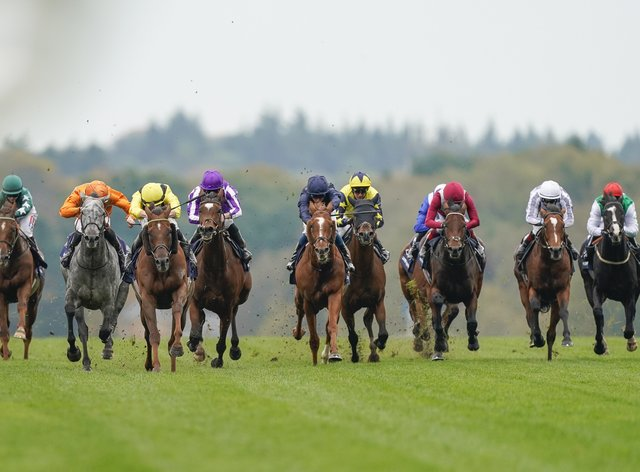 Skalleti (second left) goes for more Group One glory in Germany (Alan Crowhurst/PA)