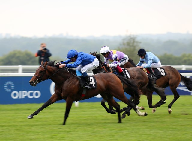 New Science (left) won the opening event at Ascot (Nigel French/PA)