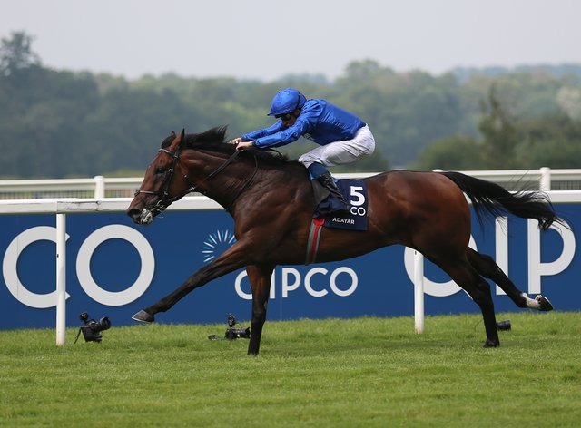 Adayar and William Buick on their way to King George glory (Nigel French/PA)