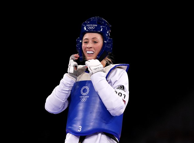 Jade Jones was denied a third consecutive Olympic gold medal in Tokyo (Mike Egerton/PA)