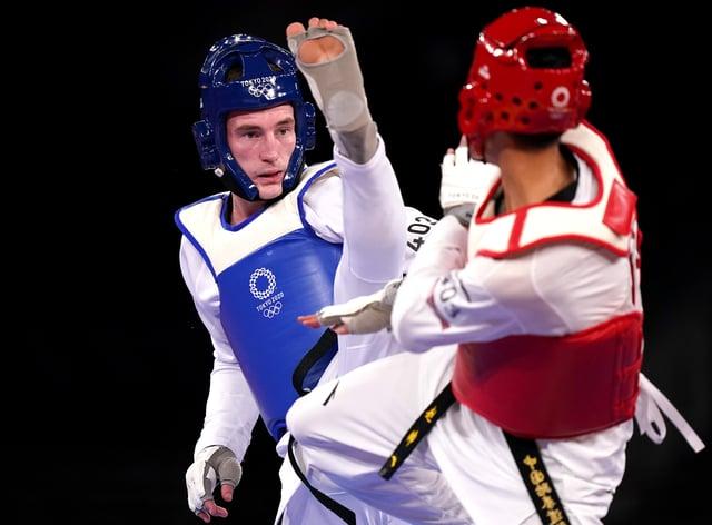 Bradley Sinden (left) missed out on gold in Tokyo