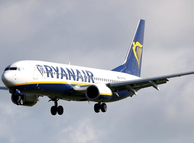 Ryanair has said it expects to fly up to 100 million passengers this year (Niall Carson/PA)
