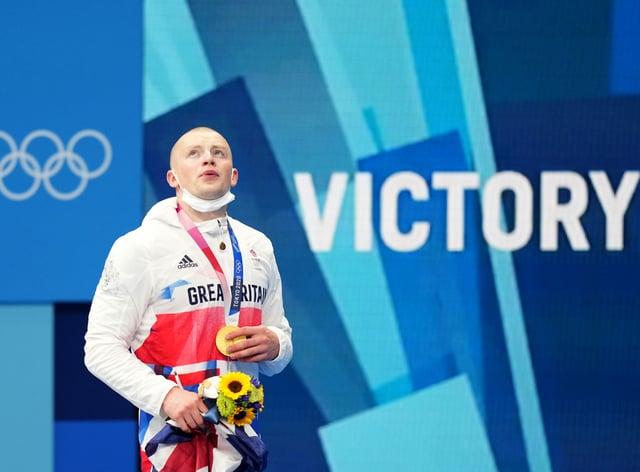Adam Peaty took gold (Joe Giddens/PA)