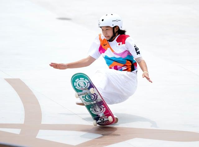 Momiji Nishiya is just 13 years of age (Mike Egerton/PA)