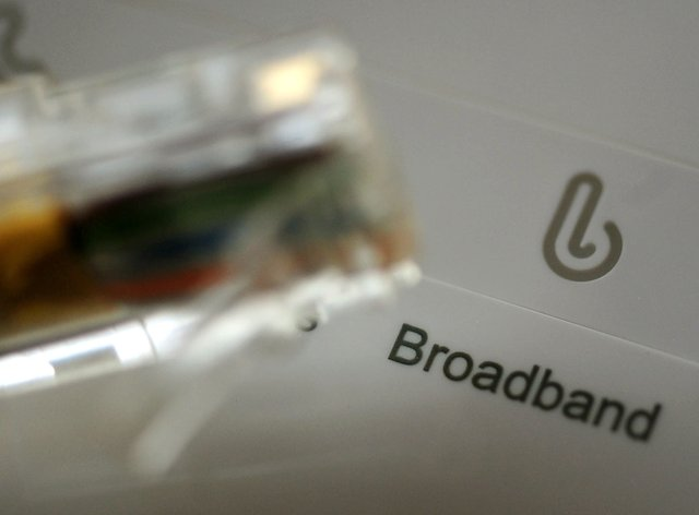 People who moved home were forced to wait more than eight days on average for their broadband connection to be up and running (PA)