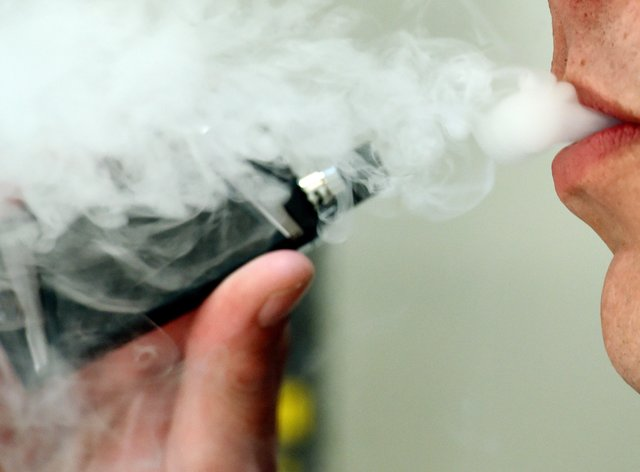 The WHO has warned e-cigarettes could act as a 'gateway' to tobacco consumption (Nick Ansell/PA)