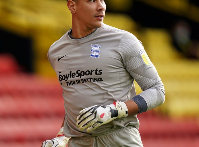 Neil Etheridge has recovered from Covid-19 (Tess Derry/PA)