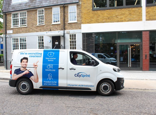 CitySprint is to recruit an extra 600 couriers across the UK (CitySprint/PA)