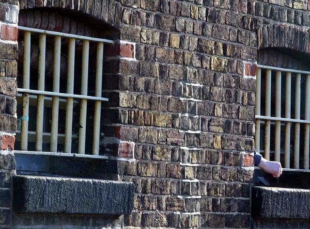 Prison window bars (Andrew Parsons/PA)