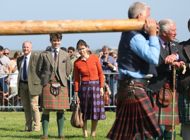 The Mey Highland & Cultural Games at the John O'Groats Showground in Caithness in 2019 (Andrew Milligan/PA)