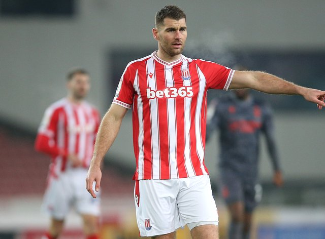 Sam Vokes has dropped down to League One (Nigel French/PA)