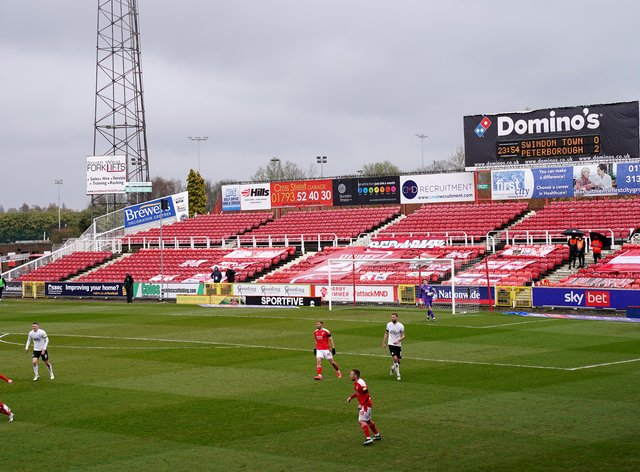 Swindon have given Harry Parsons a new deal (Tess Derry/PA)