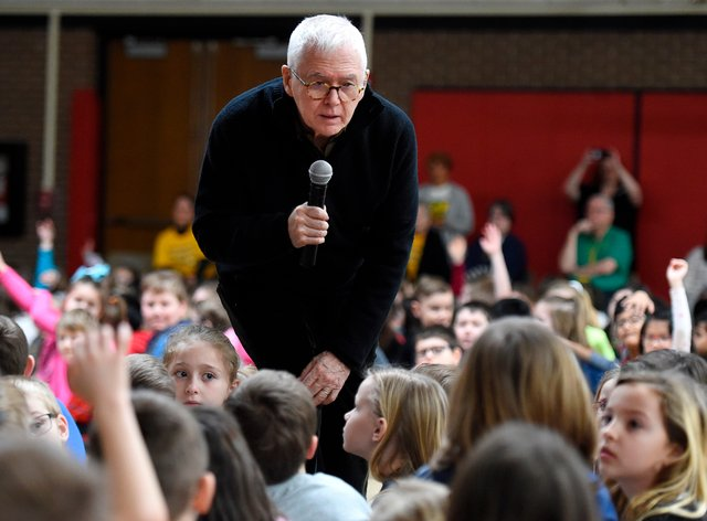 Marc Brown is a three-time Emmy award winner and the creator of the Arthur television series adapted from his books. The show will finish airing new episodes next year, it has been announced (Jack Hanrahan/Erie Times-News/AP)