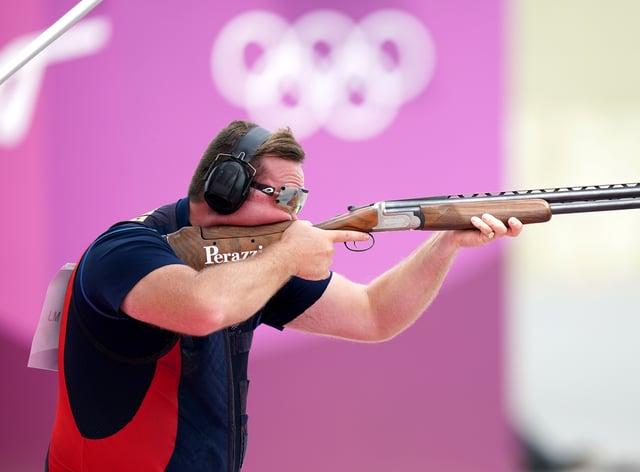 Matt Coward-Holley claimed bronze in the men's trap (Mike Egerton/PA)