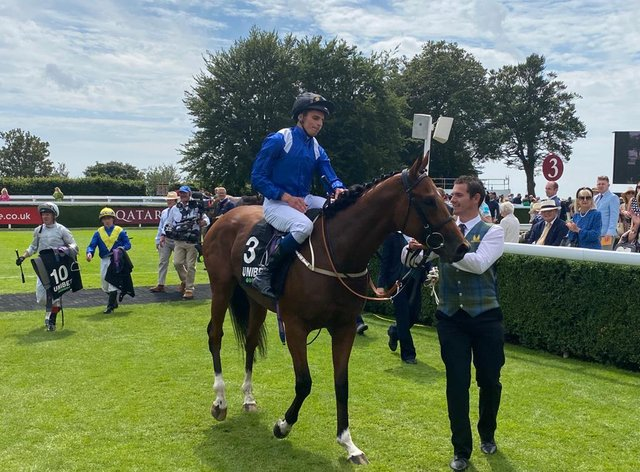 William Buick returns on Qaader (PA)