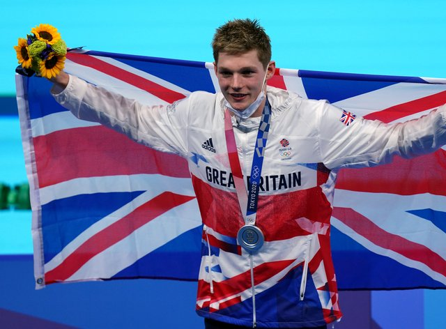 Duncan Scott added another silver (Adam Davy/PA)