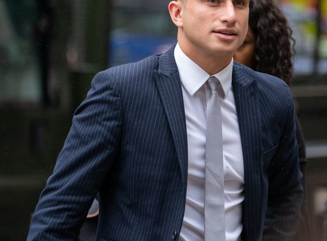 Lewis Hughes, 24, has admitted assaulting England's chief medical officer Professor Chris Whitty (Dominic Lipinski/PA)