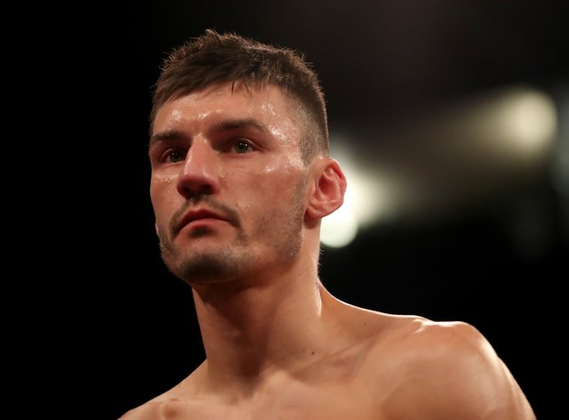 Nottingham fighter Leigh Wood produced a composed display (Bradley Collyer/PA)