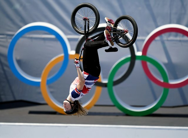 Charlotte Worthington is an Olympic champion (Mike Egerton/PA)