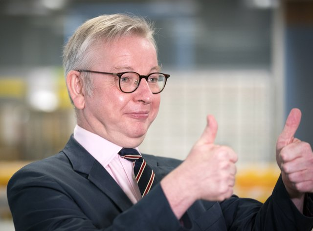 Michael Gove said he didn't think it was 'right' to have another vote on independence now (Jane Barlow/PA)