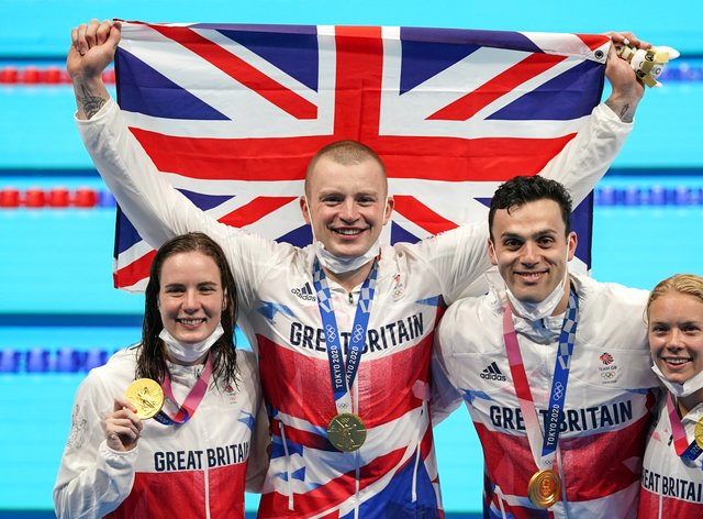 Team GB's swimmers have had their best-ever Olympics (Joe Giddens/PA)