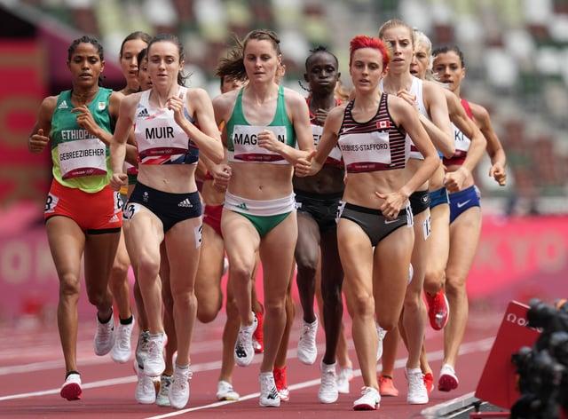 Great Britain's Laura Muir reached the 1500m semi-finals (Martin Rickett/PA)