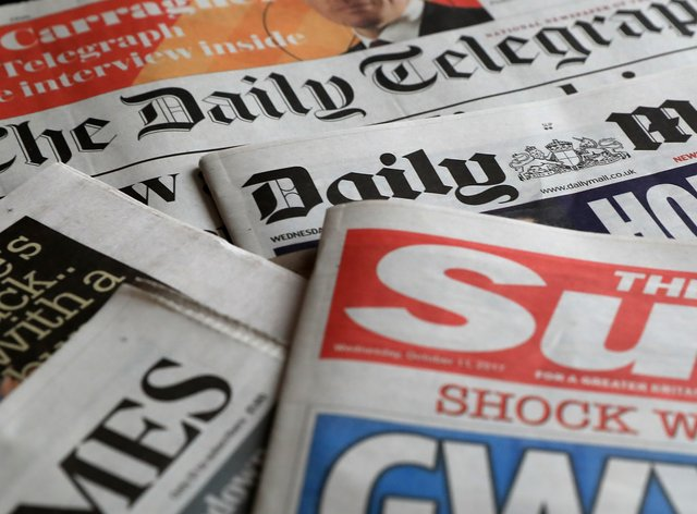 What the papers say – August 3 (PA)