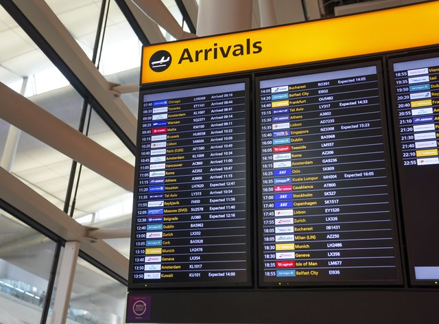 Terminal 2 at Heathrow Airport (PA)