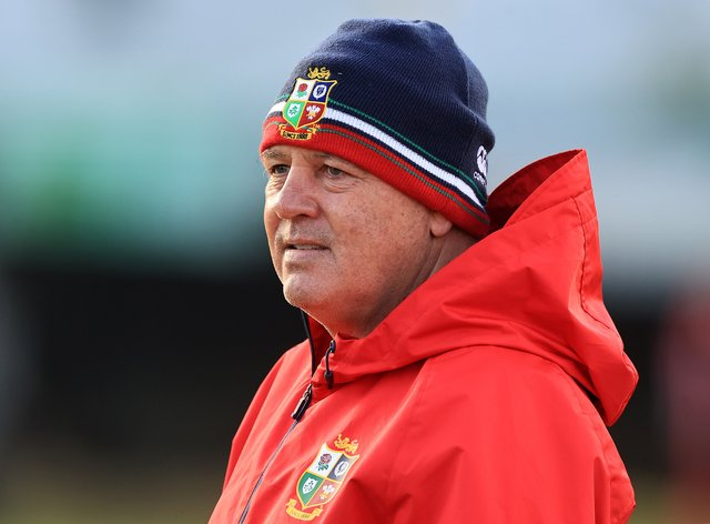 British and Irish Lions head coach Warren Gatland was disappointed to be dragged in for criticism by World Rugby when they charged Rassie Erasmus (David Rogers/PA)