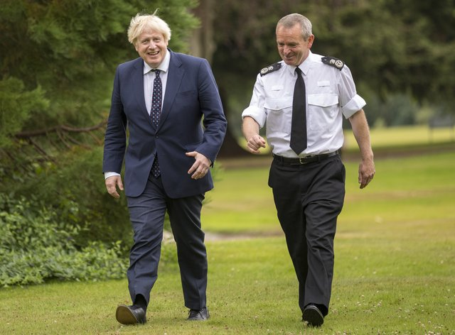 Police Scotland Chief Constable Iain Livingstone welcomed confirmation from Prime Minister Boris Johnson that the UK Government will full cover the cost of policing the Cop26 climate summit in Glasgow in November (James Glossop/The Times/PA)