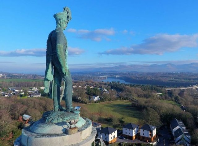 The Anglesey Column will receive funding to help make it more accessible (National Lottery Heritage Fund/PA)