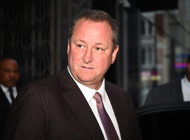 Mike Ashley (Kirsty O'Connor/PA)