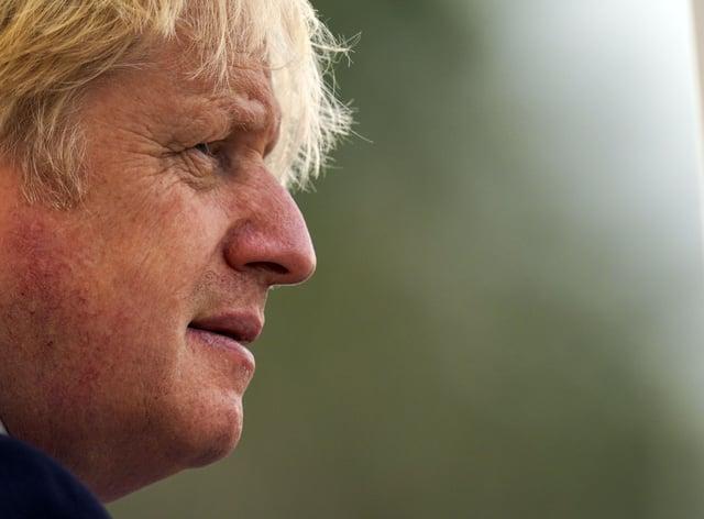 <p>Prime Minister Boris Johnson (Steve Parsons/PA)</p>