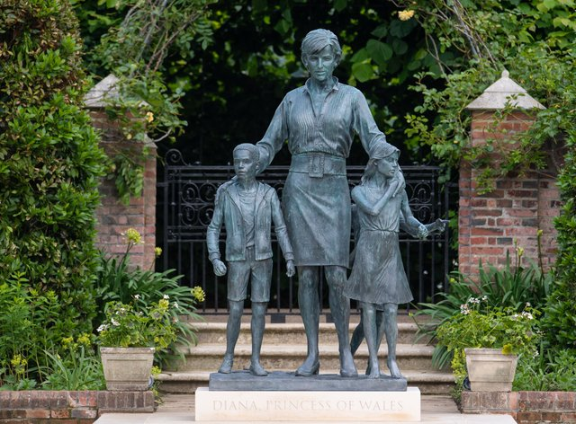 Special Access To Diana Statue To Mark Anniversary Of Her Death Newschain