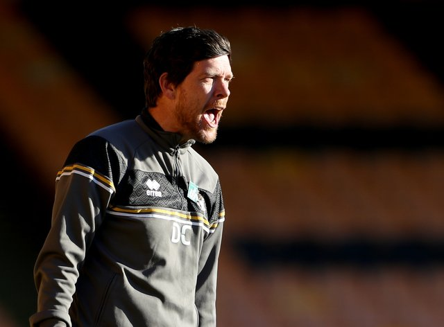 Port Vale manager Darrell Clarke was livid with his side's defending in the loss to Rochdale (Bradley Collyer/PA)