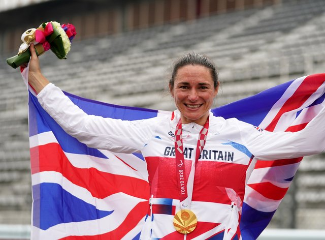 Great Britain's Sarah Storey took her gold medal tally to 17 (Tim Goode/PA)