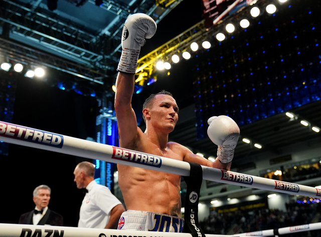 Josh Warrington is determined to press ahead with his plan to fight in the United States (Zac Goodwin/PA)