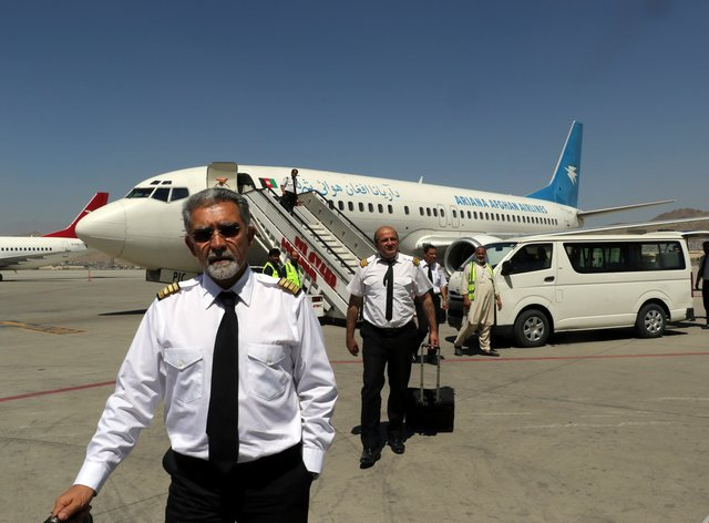 Flights have now resumed to Kabul international airport (AP Photo/Wali Sabawoon)