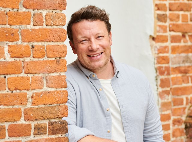 Undated handout photo issued by Jamie Oliver Productions/Plum Pictures of the chef who will lead a search for the next big name in cookbook writing as part of a show for Channel 4.