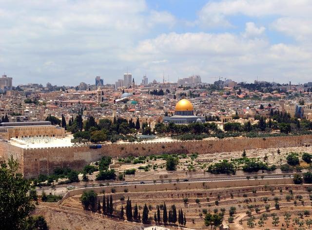 Jerusalem (Adam Davy/PA)